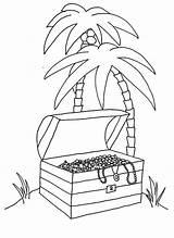 Coloring Island Tropical Printable Getcolorings sketch template