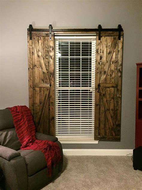 barn door shutters decor pinterest   sliding