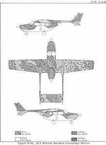 Cessna O 2 Skymaster Usaf Standard Sea Colors Profile And