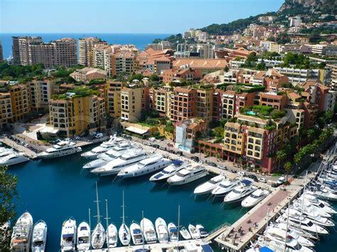 view  luxury yachts  harbor  stock photo