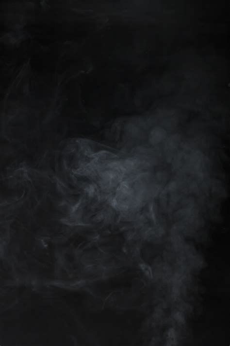 Black Background With Smoke Black Background With Smoke Effect Photo Free