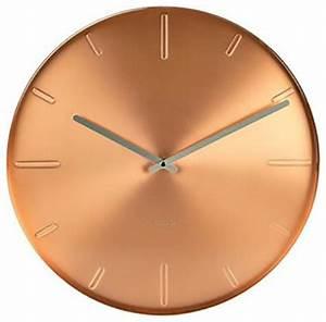 Karlsson Belt Wall Clock Copper - Modern - Wall Clocks
