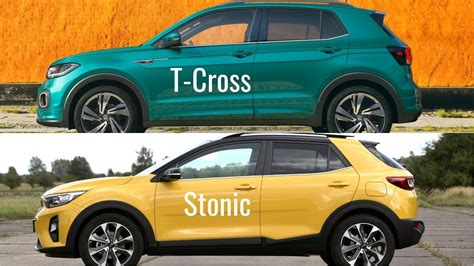 volkswagen  cross  kia stonic youtube