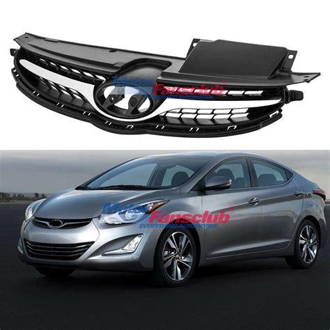 Hyundai Elantra 2013 Accessories by Chrome Front Bumper Grill Grille For Hyundai Elantra 2011