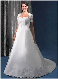 satin wedding dresses With big girl wedding dresses