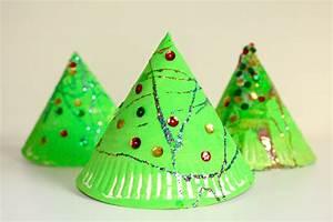 Super, Fun, 3d, Paper, Plate, Christmas, Tree, Craft