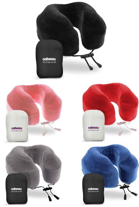 cabeau evolution pillow cabeau evolution memory foam travel pillow with ear plugs