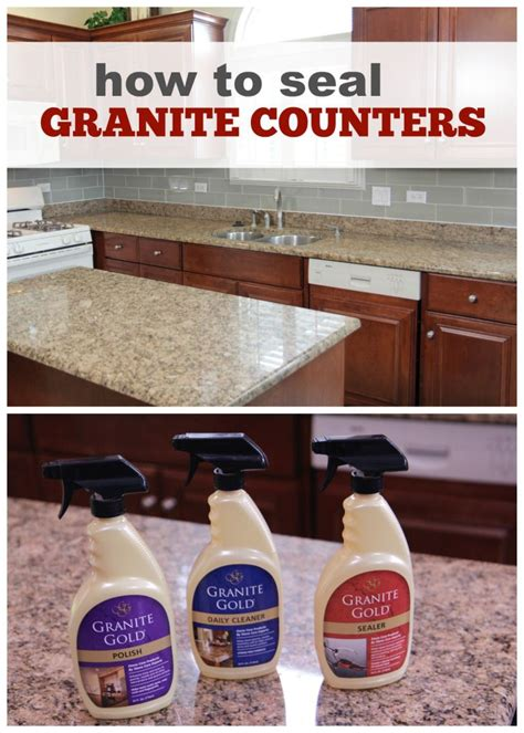 What Do You Seal Granite Countertops With - how to seal granite counters weekend workbench