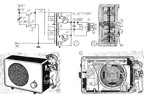 Детекторный радиоприемник . 3. недостатки классической схемы детекторного приемника
