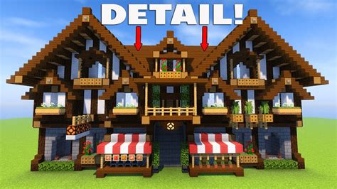 building   minecraft easy tips  detail