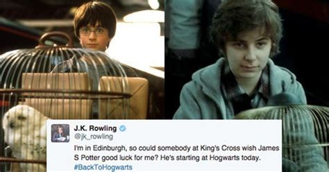 Harry Potter's Son, James Sirius Potter, Is Joining