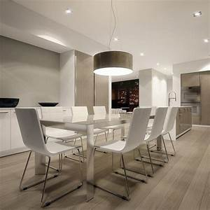 salle a manger moderne 112 idees d39amenagement reussi With salle a manger pur e