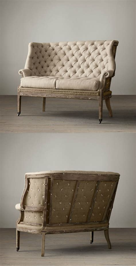 Recovering Settees by Settee Deconstructed Re Upholstered Furniture In 2019