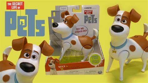 Parents need to know that the secret life of pets is a clever, engaging adventure about what our dogs, cats, birds, and other domesticated creatures get up to. The Secret Life of Pets Bouncing & Talking Dog Max Toy by ...