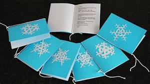 Einladung Selber Machen : individuelle einladung mit schneeflocke basteln cheznu tv ~ Orissabook.com Haus und Dekorationen