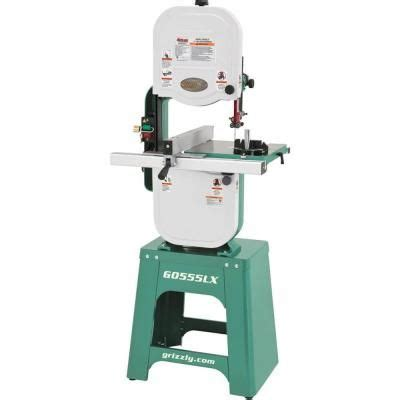 grizzly industrial  deluxe bandsaw glx