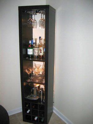 wine cabinet ikea quot i needed a bar unit to hold some stemware liquor and 1109