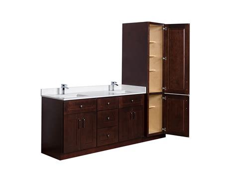 vanity cabinet broadway vanities wood bathroom cabinets showroom or