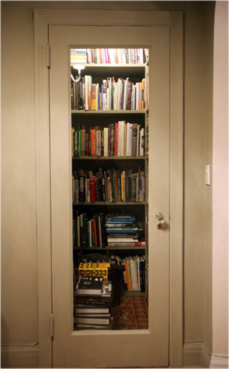 Walk In Closet Library by 9 Creative Book Storage Hacks For Small Apartments