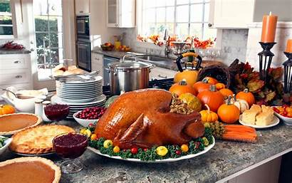 Thanksgiving Dinner Kitchen Meal Clean Together Easy