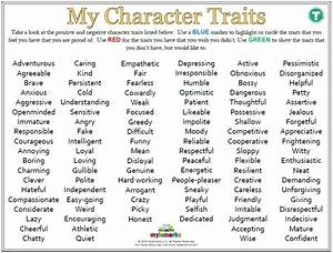 My Character Traits  Teen    Es