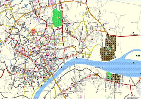 peta palembang palembang digital