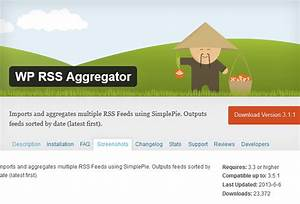 News aggregator script nulled wordpress for News aggregator template