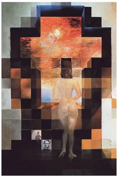 Dali Salvador Paintings Illusion Lincoln Optical Gala