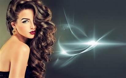 Hairstyle Brunette Woman Fondo Earrings Wallpapers Ultra