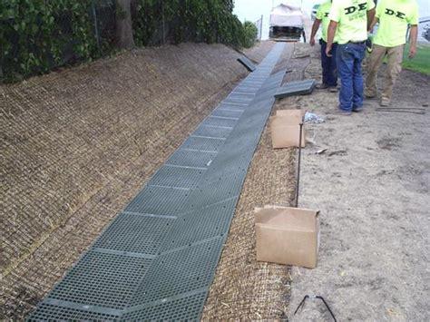 d e landscaping grading drain tile