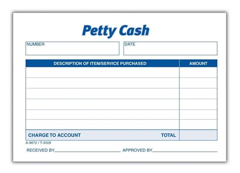 petty cash book format  definition explanation