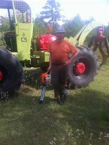 1972 C5 Tree Farmer Grapple Skidder