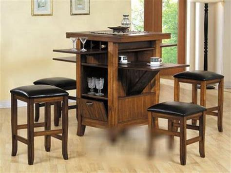 bloombety counter height kitchen tables with storage