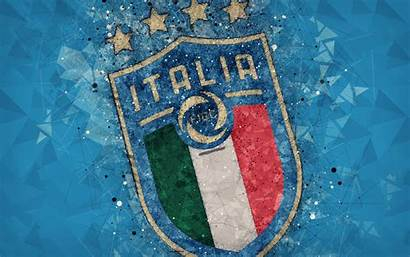Football Italy Team National 4k Background Emblem