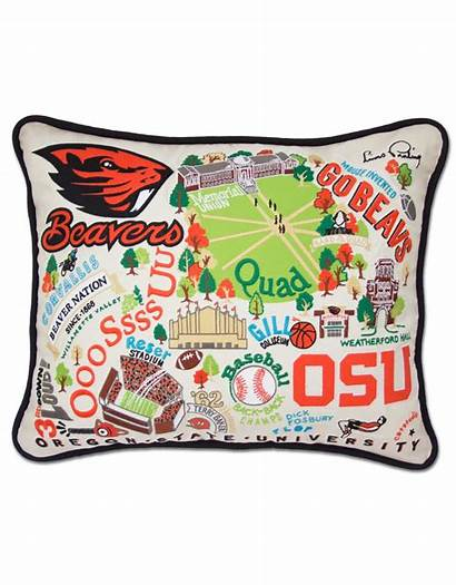 State Oregon University Beavers Pillow