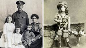 World War One images of Bermondsey family and child ...
