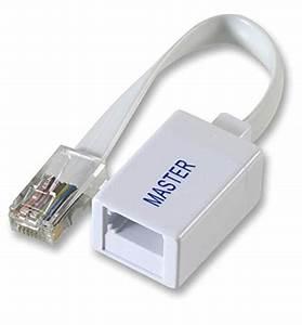 Rj45 Plug To Bt Socket Master Line Adapter Unit Telephone
