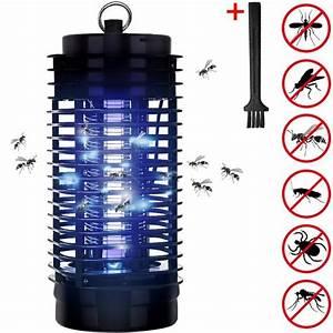 Lampe Anti Insecte : lampe uv pi ge anti moustique anti insectes achat ~ Melissatoandfro.com Idées de Décoration