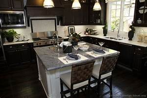 pictures of kitchens traditional dark wood nearly black 763