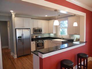 craftsman white shaker kitchen traditional kitchen