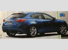 Mazda 3 leaked images appear in Japanese magazine
