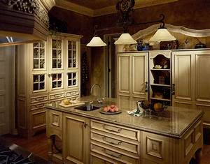French country kitchen cabinets design ideas for Kitchen cabinet trends 2018 combined with rod iron wall art home decor