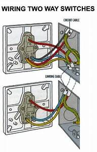Power At Light 2way Switch Wiring Diagram Rafmagn Pinterest