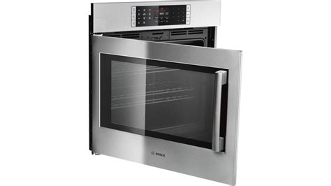 benchmark  single wall oven left side opening door hblpluc stainless steel  appliances