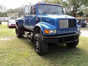 International 4700 Custom Crew Cab Pickup Truck