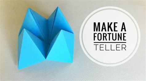 paper fortune tellers  child fun