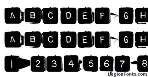 Microsoft Word Spacers by Backspacersquare Font Free Legionfonts
