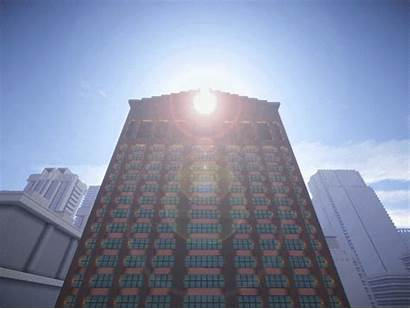 Minecraft Tower Form Manhattan Sony Slightly Modified