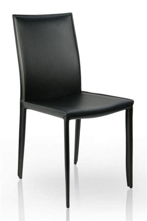 design stuhl verona schwarz leder dunord design hamburg