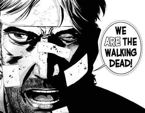 The Strangeness Of Reading 'the Walking Dead' Comics Forbes